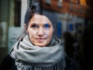 Kristina Sandberg är uppvuxen i Sundsvall.  Trilogin om hemmafrun Maj från Örnsköldsvik blev hennes stora litterära genombrott och den avslutande delen Liv till varje pris fick Augustpriset 2014. Foto: Yvonne Åsell / SvD / TT /