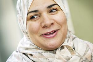 Sallama Salam är en av föräldrarna i Familjeverkstan.