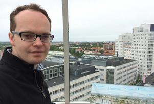 Eugene Lavery under ett besök i Stockholm för några år sedan.