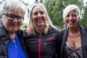 Evabritt Westlund, Helena Eriksson och Maria Larsson.