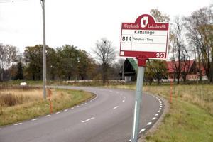 NY DÖDSOLYCKA. På väg 709 mellan Kättslinge och Örbyhus slott omkom en 33-årig man i en kollision mellan två bilar.