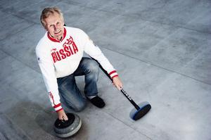 Lennart Karlsson vill ha en curlinghall i Söderhamn.