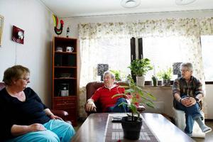 """""""Göran skakade som ett asplöv och var på väg att springa in i det brinnande huset flera gånger"""", säger Kjell-Åke Stolt, god vän till Birgitta och Göran."""
