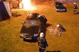Övningen ägde rum vid brandstationen i Älvdalen.