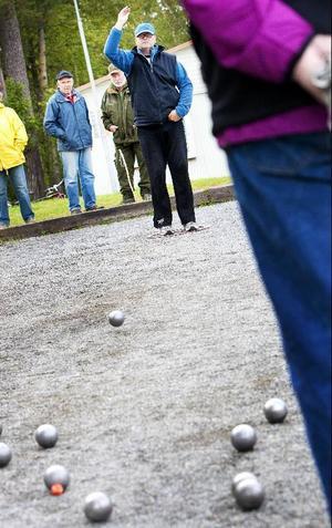 Fokus och precision är två av de allra viktigaste egenskaperna i boule. Kenth Staaf från Frösön äger bevisligen båda.