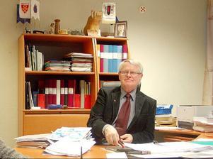 Gottfrid Jonsson ser med tillförsikt fram emot valet. Ett val som blir en tuff kamp in i det sista.