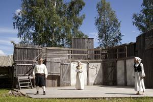 Pontus Wonkavaara spelar Erik. Manusförfattarna Jenni Åström och Ellinor Berglund agerar och sjunger också på scenen.