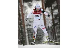 Guldmedaljören Charlotte Kalla stod i en klass för sig. Foto: Staffan Björklund