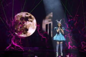 Tysklands Jamie-Lee framför bidraget Ghost.