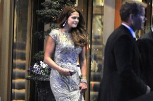 Prinsessan Madeleine timmarna före sitt bröllop i Stockholm i juni 2013.