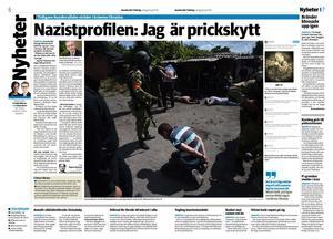 Sundsvalls Tidning 26 juli 2014.