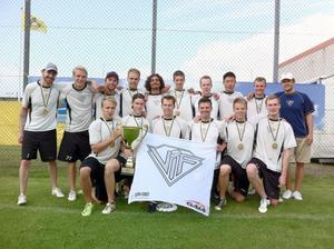 Viksjöfors tog sitt första SM-guld i klubbens historia.