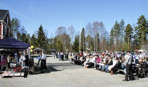300 personer deltog under den historiska marknaden i och vid Gottne Byskola. Foto: Markus Melin
