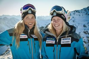 Anna Holmlund och Sandra Näslund har erövrat pallplatser i världscupen i år och hör till favoriterna när världscupen körs på hemmaplan.