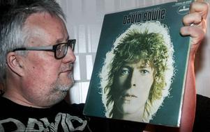 Stefan Bowie Saulsson, Söderhamn, har hundratals plattor med den idol han fastnade för under tidigt 70-tal.