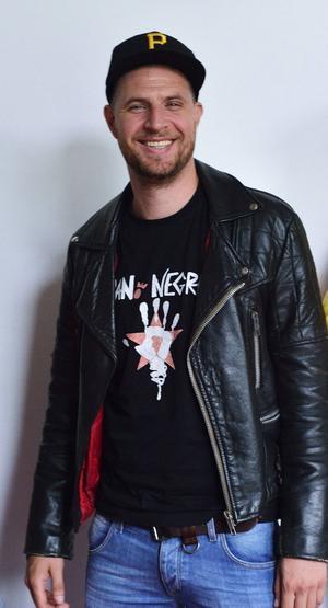 Hoffmaestro-sångaren Jens Malmlöf.