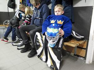 Mille Vestmark laddar inför första matchen mot Valbo HC.