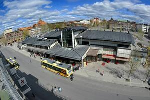Busstorget är en av de platser i Östersund där fältarbetsgruppen arbetat.