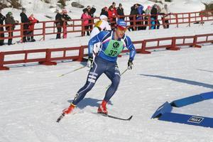 Anton Lindblad, Sollefteå Skidor, svarade för en fin insats genom att bli tvåa i Sverigecupens sprinttävling i Borås.