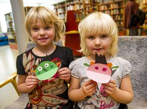 Bullen och Slarven har syskonen Amanda och Linnea Nyberg döpt sina monster till.