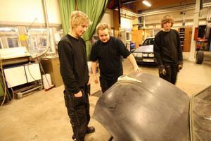 Skodan skulle till skroten när Bertil Nilsson hittade den. Nu, 25 år senare, ska bilen bli något alldeles extra.Foto: Håkan Degselius