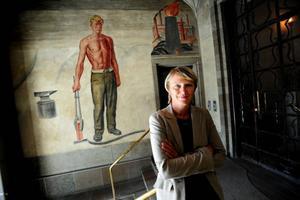 Organisationen Företagarna ser LO:s näringspolitiska Irene Wennemo chef som farlig. Man är rädda för att hon som utredare av ett nytt lärlingssystem ska lägga förslag på obligatoriska kollektivavtal. Hoppas hon gör det. Foto: Lars Pehrson/SvD/SCANPIX