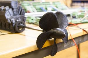 Företaget använder sig av 3D-skrivare för att tillverka prototyper.
