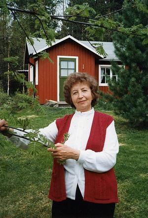 Thyra Karlsson våren 1982. Foto: Pressbild