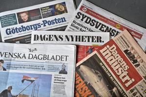 Några svenska dagstidningar.