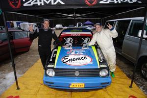 Martin Lundquist tog hem segern i Söderhamn tillsammans med sin co-driver Andreas Jaakonen. I helgen kommer han till start med Christian Segerström.
