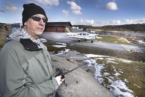 Karl-Ivar Karlsson, ordförande i Mellingeholm Flygplats AB.