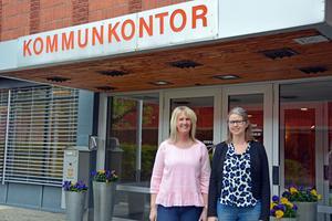 Eleonor Nilsson och Tina Olsson Leander är projektledare för den stora satsningen för att öka sysselsättningen för unga.