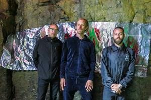 Henrik Ljusberg , Anton Wiraeus och Giorgio Bartocci kommer att måla både var och en för sig, och kollektivt tillsammans.
