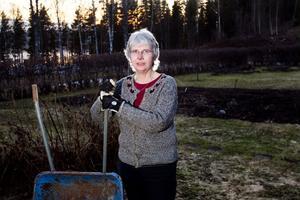 - Jag förstår att folk var oroliga. Det var något nytt och det var laddat med strålning som kan orsaka cancer, säger Margareta Örn-Liljedahl.