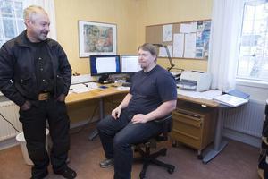 Anders Lemon och Peter Pyykkinen tycker att man har bra lokaler och vill ogärna lämna