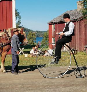 Än i dag bedrivs jordbruket på Jamtli i Östersund med endast hästar som dragare.