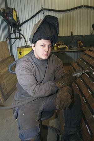 Niclas Fagerström fick jobb direkt på BMT när han gick ut industritekniska programmet i Hudiksvall ifjol.