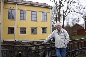 Bo Brihler, ordförande i bostadsrättsföreningen på Brinkbacken, tror att det är positivt för Krylbo med fler bostäder på orten.