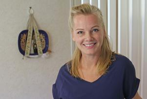 Sofia Berggen känner att det är skönt att renoveringen av parets bed & breakfast är klar.