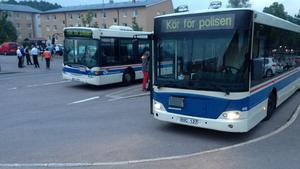 Bussar till Norberg.