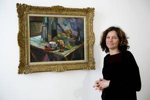 Konstintendent Maria Oldenmark och Henri Matisses