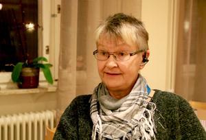 Ingrid Olsson i Ramsjö bygderåd tycker det ska bli spännande med den nya tekniken i byn.