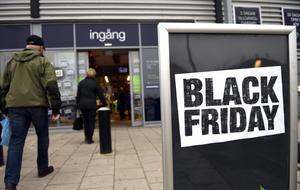 Black Friday är på stark tillväxt i Sverige.