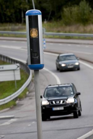 Vi är sämre än vi tror på att köra in tid, i höga hastigheter överskattar de flesta av oss tidsvinsten.    Foto: Jonas Ekströmer/TT