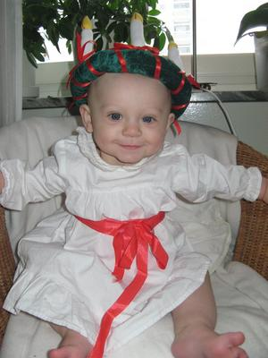 Lilla Milly, 8 månader. Läsarbild: Jennie Ståhl Rizan