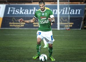 Tuffe mittbacken Marko Mihajlovic svarade för Brages 1–1 mål.