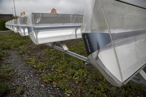 Absolicon hoppas på att sälja produktionslinjer för sina centrerande solfångare över hela världen.