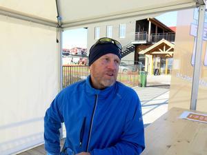 Mikael Nyman från Gävle kommun ligger bakom arrangemanget i Kungsberget.