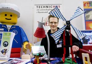 Bengt Böhlin, projektledare på First Lego League.