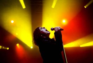 Joey Tempest i Europe.
